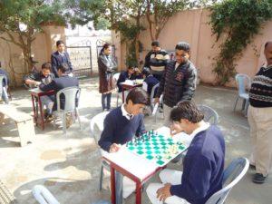 Hostel School Gwalior Chess
