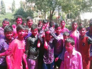 Hostel School Holi