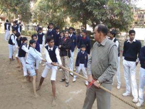 Hostel School Gwalior Rope Pulling