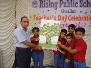 Rising Public School Teacher`s Day Gwalior India