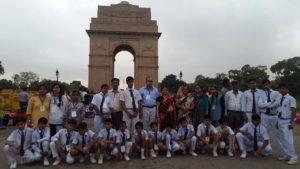 Delhi School Tour India Gate Rising Public School