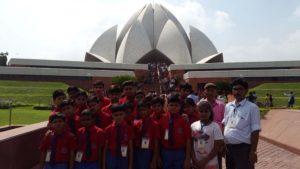 Delhi School Tour Lotus Temple Rising Public School
