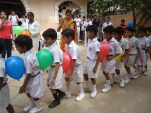 Children Day Ball Activities Gwalior MP India